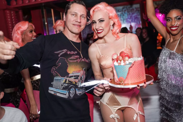 Deejay Tiësto Celebrates His 51st Birthday While UFC Fighter Conor McGregor Buys a Bar a Round of Shots